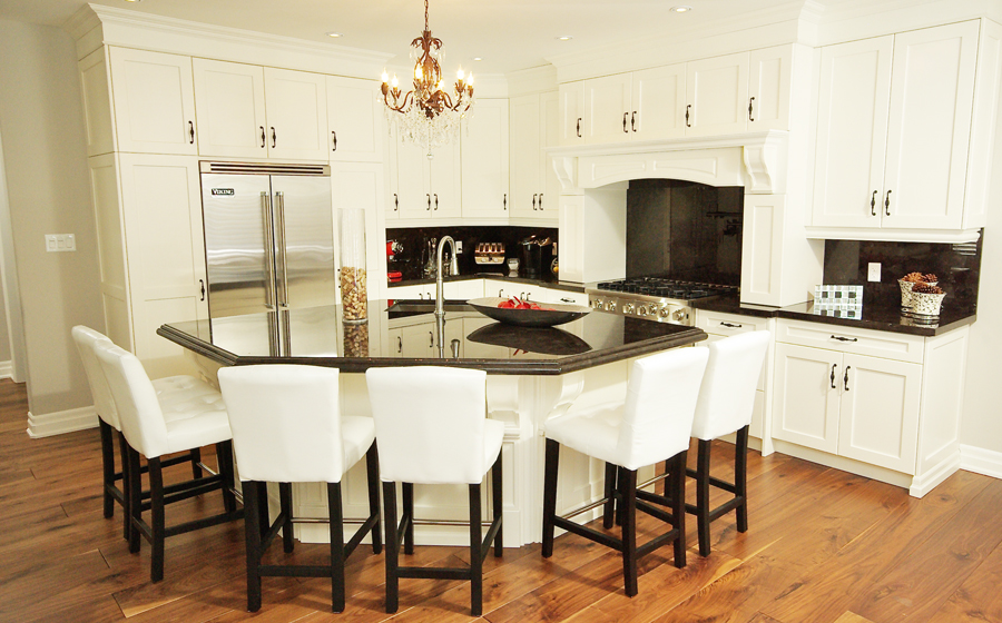 Image Result For White Kitchen Designs With Island